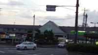 ようやくたどり着いたJR松山駅